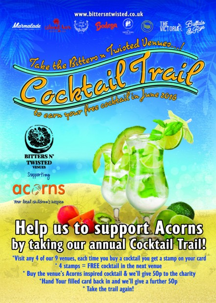 Take The Cocktail Trail!
