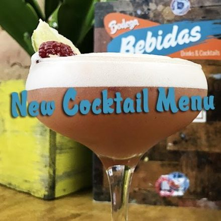 MEET OUR NEW BEBIDAS!