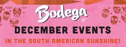 Winter Drinks & Events @Bodega Cantina