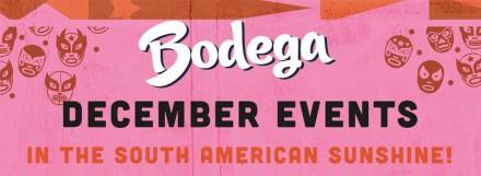 Winter Drinks & Events @Bodega Worcester