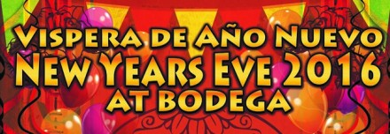 New Years Eve – South American Style @Bodega Worcester