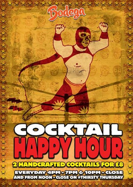 ALL NEW HAPPY HOUR!