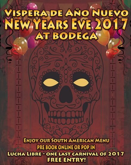 NYE at Bodega Cantina