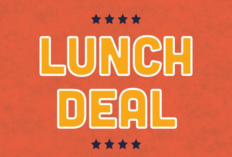 Lunch deal Bod Bham