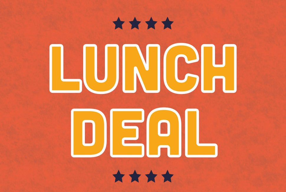 Lunch deal Bod Bham