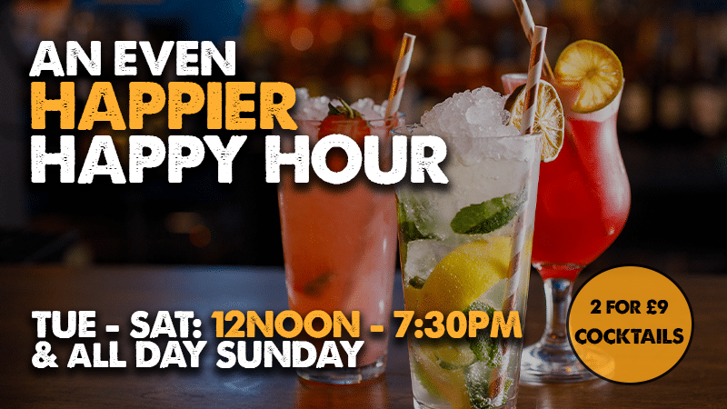 Happy Hour Birmingham | Happy Hour Cocktails Birmingham | 2 for 1 cocktails Bodega